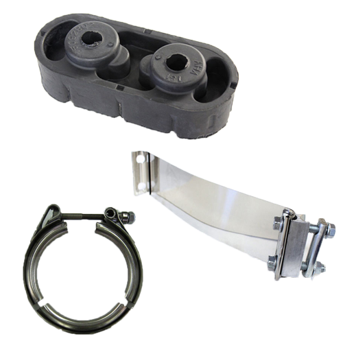 Exhaust - Clamps & Hardware & Adapters