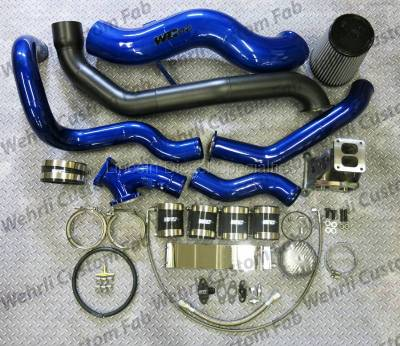 WCFab - WCFab 01-16 Duramax S400 Single Turbo Install Kit