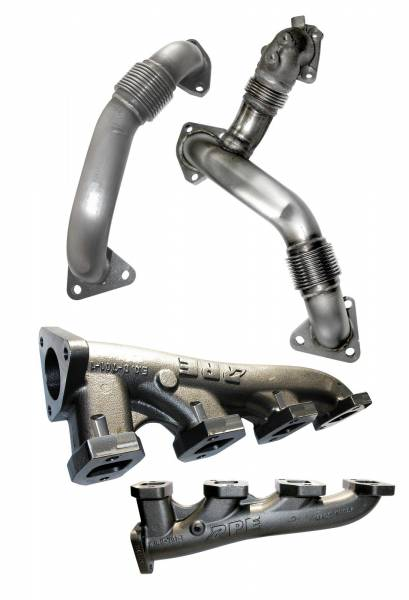 Pacific Performance Engineering - PPE Manifolds & Up-pipes GM 11-14 LML w/EGR Riser