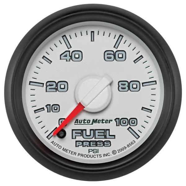 "Auto Meter - AutoMeter Dodge 3rd Gen Factory Match Digital 2-1/16"" 0-100 PSI Fuel Pressure"