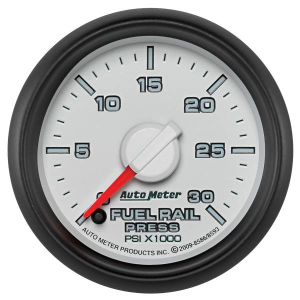 "Auto Meter - AutoMeter Dodge 3rd Gen Factory Match Digital 2-1/16"" 0-30K PSI Fuel Rail Pressure"