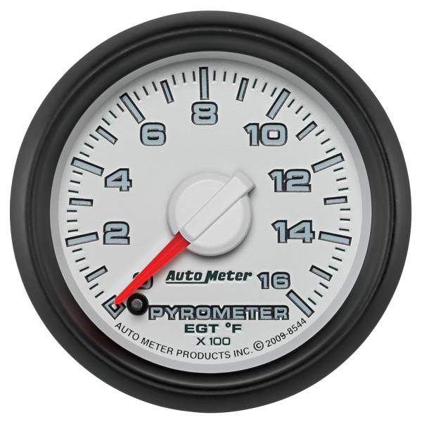 "Auto Meter - AutoMeter Dodge 3rd Gen Factory Match Digital 2-1/16"" 0-1600°F Pyrometer"