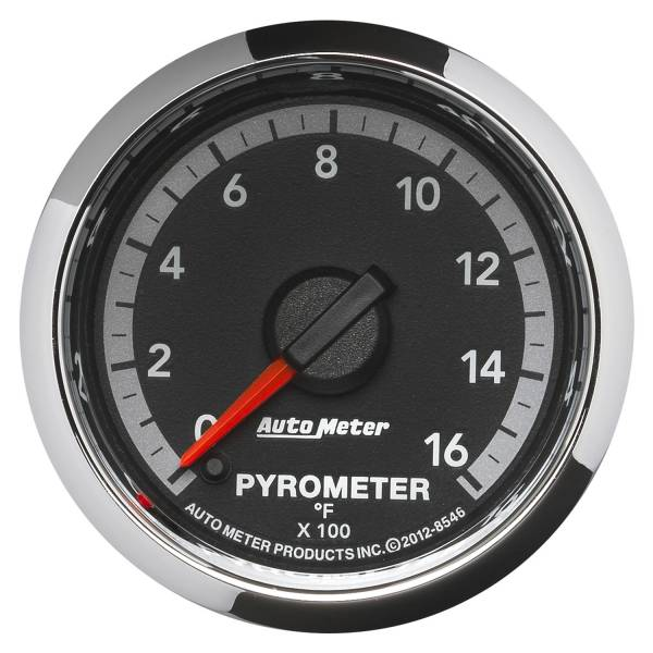 "Auto Meter - AutoMeter Dodge 4th Gen Factory Match Digital 2-1/16"" 0-1600°F Pyrometer"