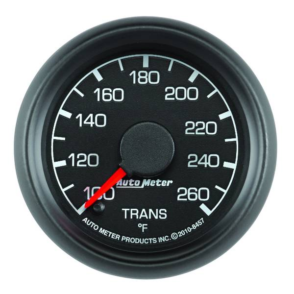 """Auto Meter - AutoMeter Ford Factory Match Digital 2-1/16"""" 100-260°F Transmission Temperature"""