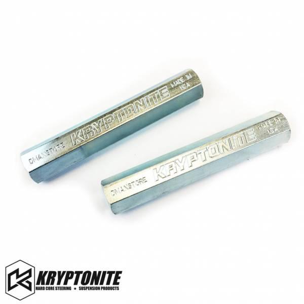 Kryptonite - KRYPTONITE 01-10 Zinc Plated Tie Rod Sleeves