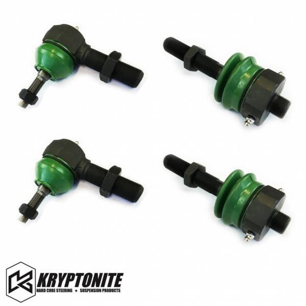 Kryptonite - KRYPTONITE 11-17 Tie Rod Rebuild Kit for the Rods with Stock Centerlink