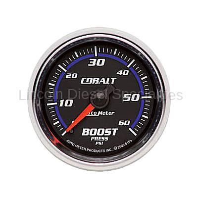 Auto Meter - Auto Meter Cobalt Series Boost Gauge ( Universal)