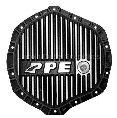 Pacific Performance Engineering - PPE  Heavy Duty Differential Cover - Brushed (GM-2001-2018)(Cummins 2003-2018)