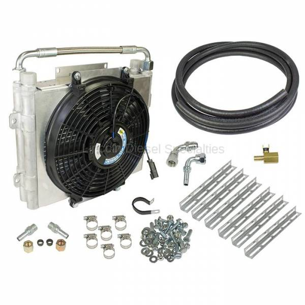 BD Diesel Performance - BD-Power Xtruded Double Stacked Auxiliary Trans Cooler Kit (2001-2016)