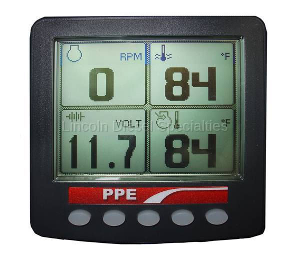 Pacific Performance Engineering - PPE J-Bus Engine Monitor Display