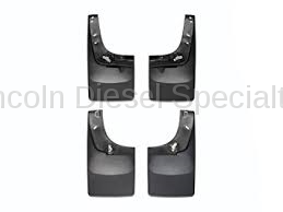 WeatherTech - WeatherTech Mud Flap Front and Rear, Std. Fenders Laser Fitted, 2001-2007