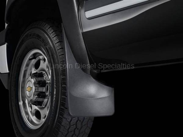 WeatherTech - WeatherTech Mud Flap Front Only Flared Fenders/ Moulding Laser Fitted, 2001-2007