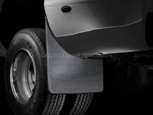 WeatherTech - WeatherTech Mud Flap Rear Only For Dually , Laser Fitted, 2001-2007