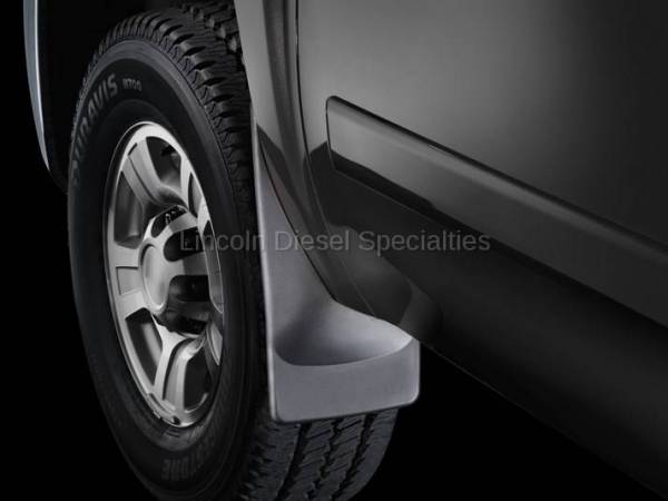 WeatherTech - WeatherTech Mud Flap  Front Only  No Drill Laser Fit (2007.5-2014)