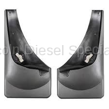 WeatherTech - WeatherTech Mud Flap Rear Only No Drill Laser Fit (2007.5-2014)