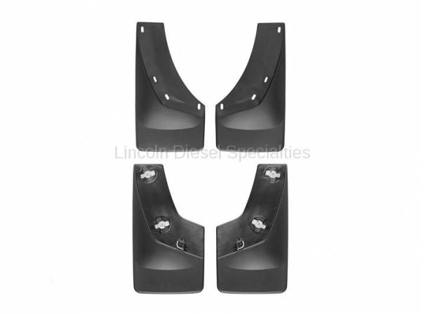 WeatherTech - WeatherTech Mud Flap  Front & Rear  No Drill Laser Fit (2015-2017)