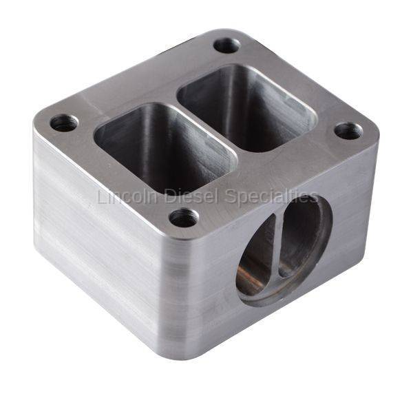 Pacific Performance Engineering - PPE Duramax T4 Riser Block with Wastegate Port (2001-2010)