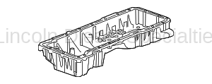 GM - GM OEM Upper Engine Oil Pan (2011-2016)