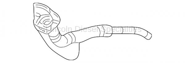 GM - GM OEM Fuel Filler Pipe (2001-2004)