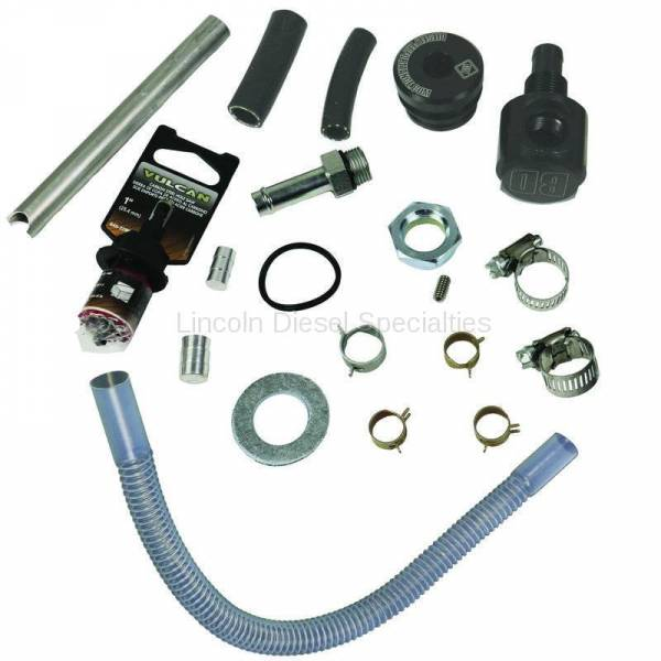 BD Diesel Performance - BD-Power Flow-MaX High Flow Top Draw Straw Kit