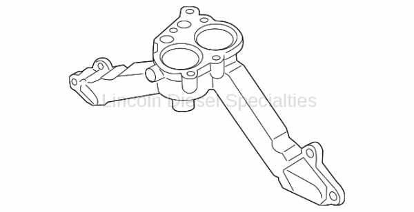 GM - GM OEM Thermostat Housing (2011-2016)