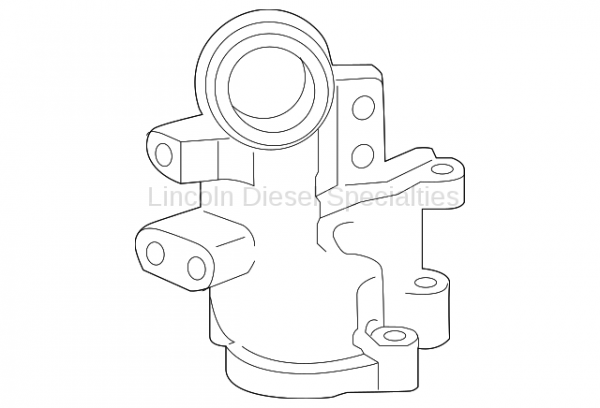 GM - GM OEM Thermostat Housing Outlet Pipe (2011-2016)