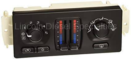 GM - GM OEM Air Conditioning/Heater Control Unit Automatic Dual Zone W /Rear Defrost (2003-2004)