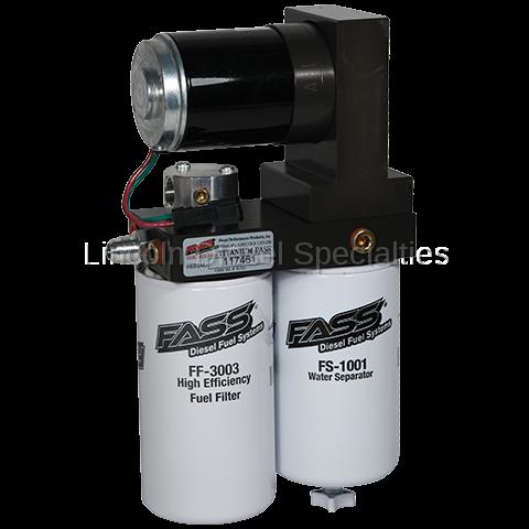 Fass - FASS Titanium Signature Series Diesel Fuel Lift Pump, 95GPH (2005-2018)