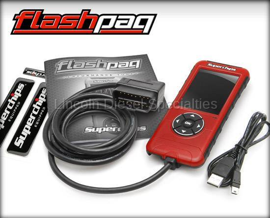 Superchips - SuperChips F5 Dodge Flashpaq (2003-2012)