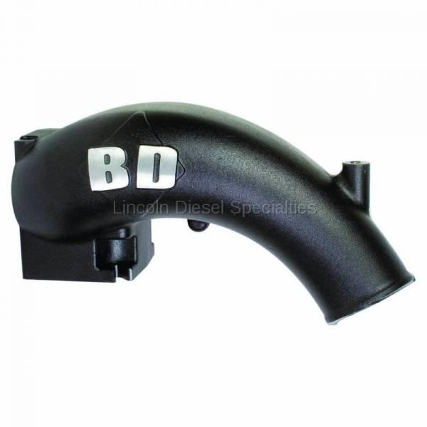 BD Diesel Performance - BD Power  X-Flow Power Intake Elbow (Black) (2003-2007)