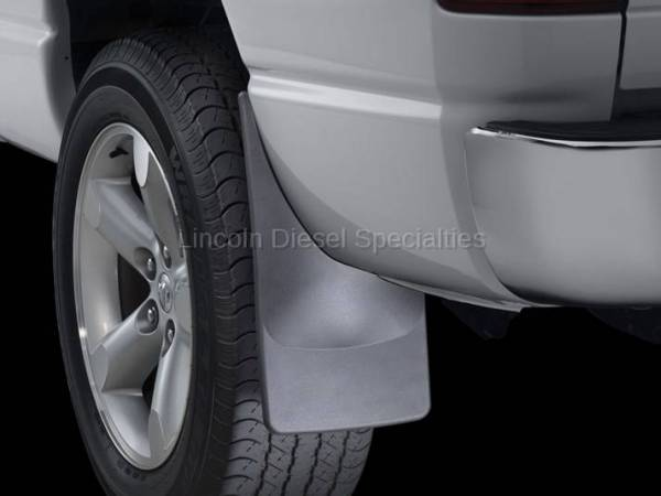 WeatherTech - WeatherTech Dodge Ram, Rear Only, Truck Mud Flaps, Black (2006-2009)
