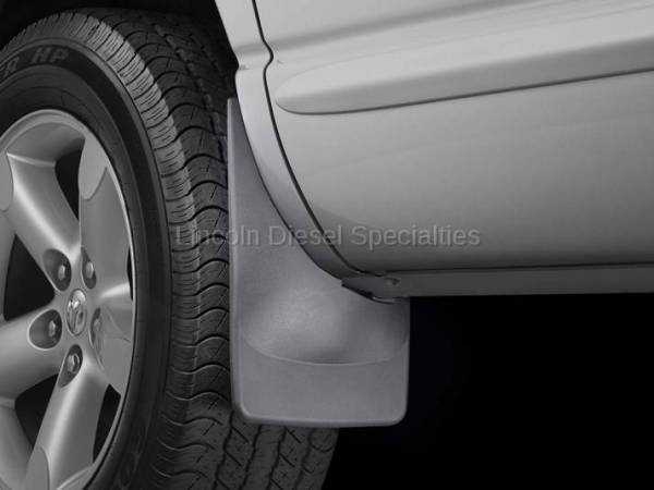 WeatherTech - WeatherTech Dodge Ram, Front Only, Truck Mud Flaps, Black (2006-2009)