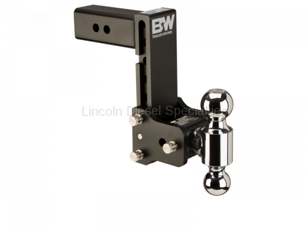 """B&W Trailer Hitches - B&W Tow & Stow Receiver Hitch, Dual Ball (2"""" & 2-5/16"""") 7"""" Drop / 7.5"""" Rise (Universal)"""