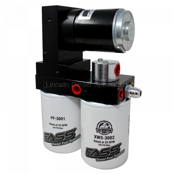 Fass - FASS Titanium Signature Series Diesel Fuel Lift Pump, 165GPH, Dodge Cummins 6.7L (2019-2020)