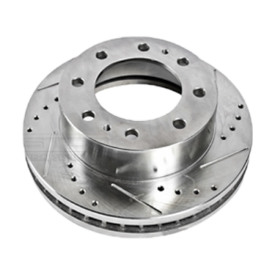 06-07 LBZ Duramax - Brake Systems - Drum & Rotors