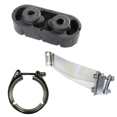 04.5-05 LLY Duramax - Exhaust - Clamps & Hardware & Adapters