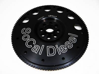 Socal Diesel - Socal 01-05 LB7/LLY Duramax Externally Balanced Billet Flex Plate