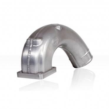 03-07 Common Rail 5.9 - Air Intake - S&B Filters - S&B 03-07 5.9L CNC Intake Elbow