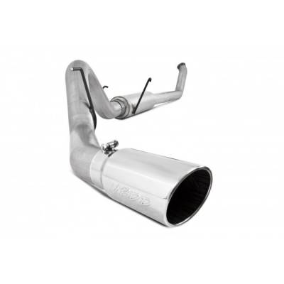 Exhaust - Exhaust Systems - MBRP - MBRP 03-04 Cummins Black Turbo Back (4WD Only)