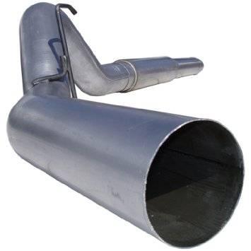 """Exhaust - Exhaust Systems - MBRP - MBRP 04-07 Cummins 5"""" Cat Back, Single, AL"""