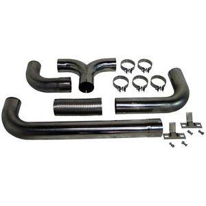 """Exhaust - Exhaust Systems - MBRP - MBRP 04.5-07 Cummins 4"""" Cat Back Dual SMOKERS, T409"""