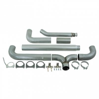 "Exhaust - Exhaust Systems - MBRP - MBRP 94-02 Cummins 5.9L 5"" Turbo Back, Dual SMOKERS, AL"