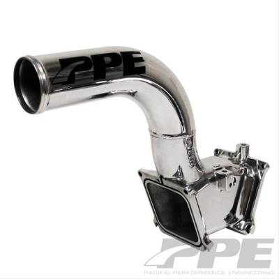 07.5-10 LMM Duramax - Air Intake - Pacific Performance Engineering - PPE 2.5 inch - Race High Flow Intake Manifold GM 06-10 Raw