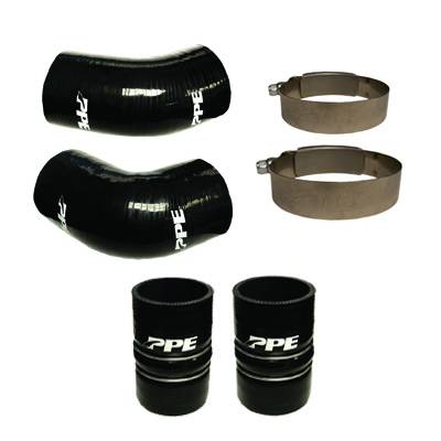 07.5-10 LMM Duramax - Intercoolers and Pipes - Pacific Performance Engineering - PPE 06-10 LBZ/LMM Silicone and Clamp Kit