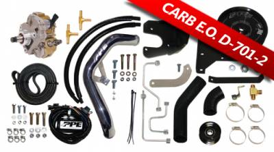 Fuel System - Injection Pumps - Pacific Performance Engineering - PPE Dual Fueler Install Kit w/ CP3 Kit Dodge 04.5-07 5.9