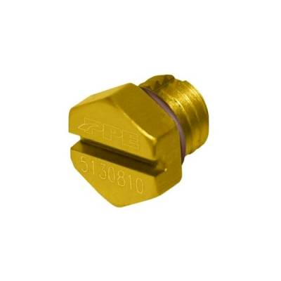 Pacific Performance Engineering - PPE Air Bleeder Screw - Yellow - GM 6.6L