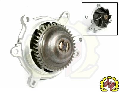 Deviant Race Parts - Deviant Welded Water Pump 01-05 LB7/LLY Duramax