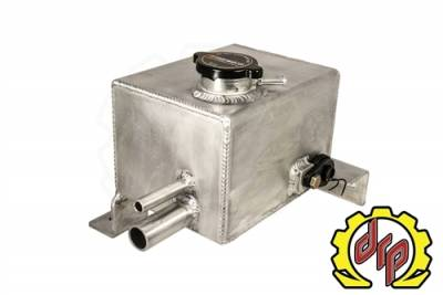 Deviant Race Parts - Deviant Fabricated Coolant Tank 07-10 LMM Duramax