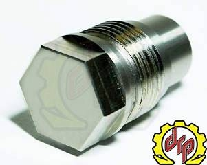 Deviant Race Parts - Deviant 03-07 5.9 Cummins Fuel Rail Plug
