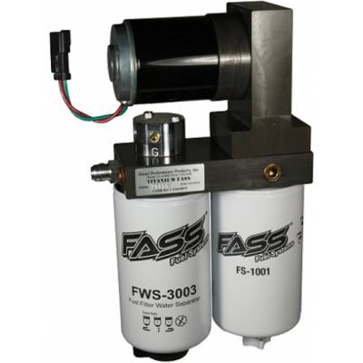 Fuel System - Lift Pumps - Fass - Fass 08-10 Powerstroke Titanium 165GPH Lift Pump (600-900HP)